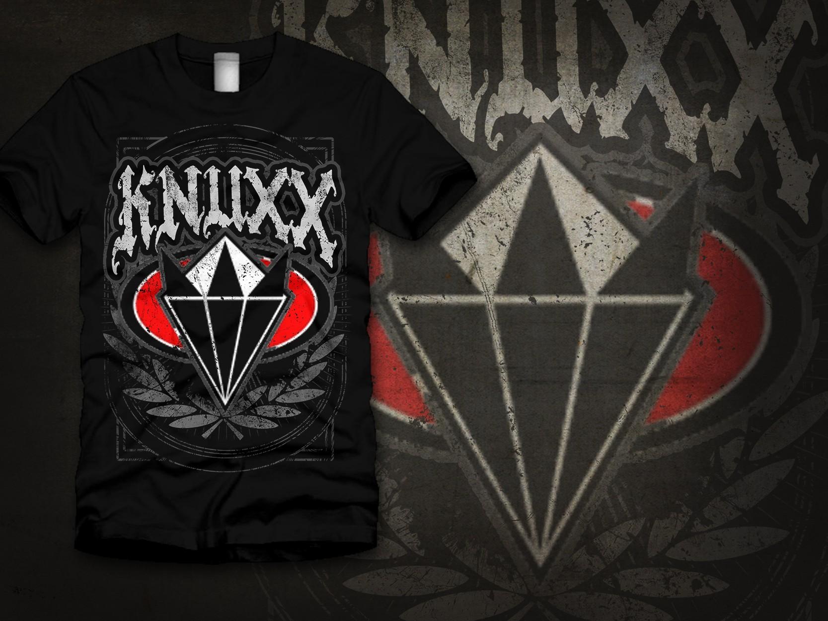 t-shirt design for Aggressive Brand - KNUXX
