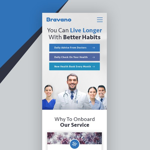 Mobile Site Of Health Website
