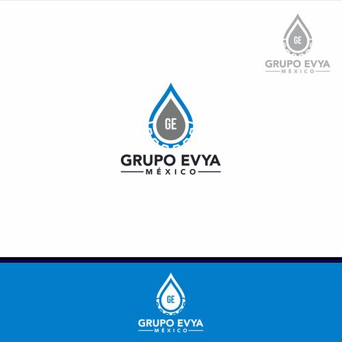 simple logo for Grupo Evya