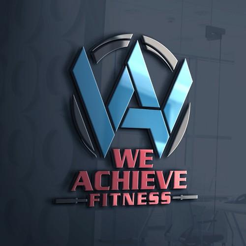 We Achieve Fitness logo design
