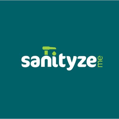 Logo for sanitizing product