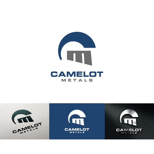 Logo for a steel fabricator company