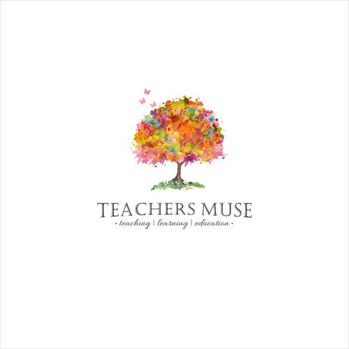Design logo for the Teachers Muse