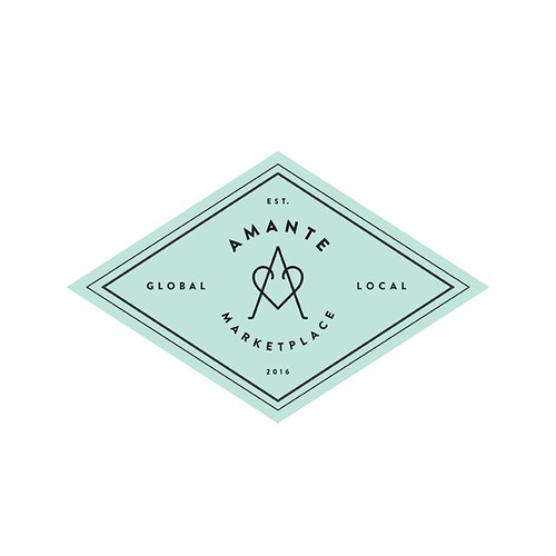 Design for Amante Marketplace logo