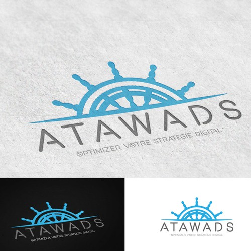 Nautical Logo For Atawads