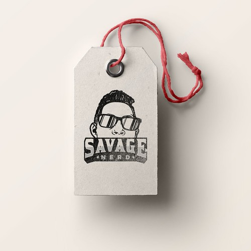 Logo concept for Savage Nerd