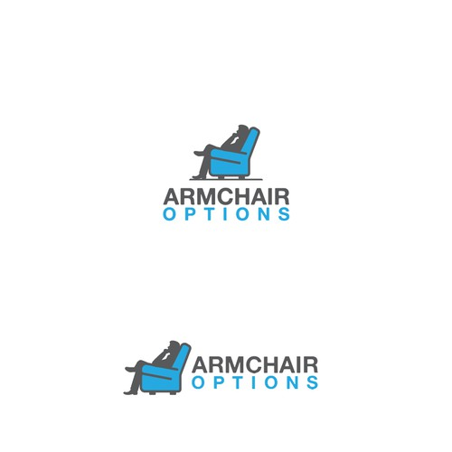 Design Logo for Investment company ARMCHAIR OPTIONS