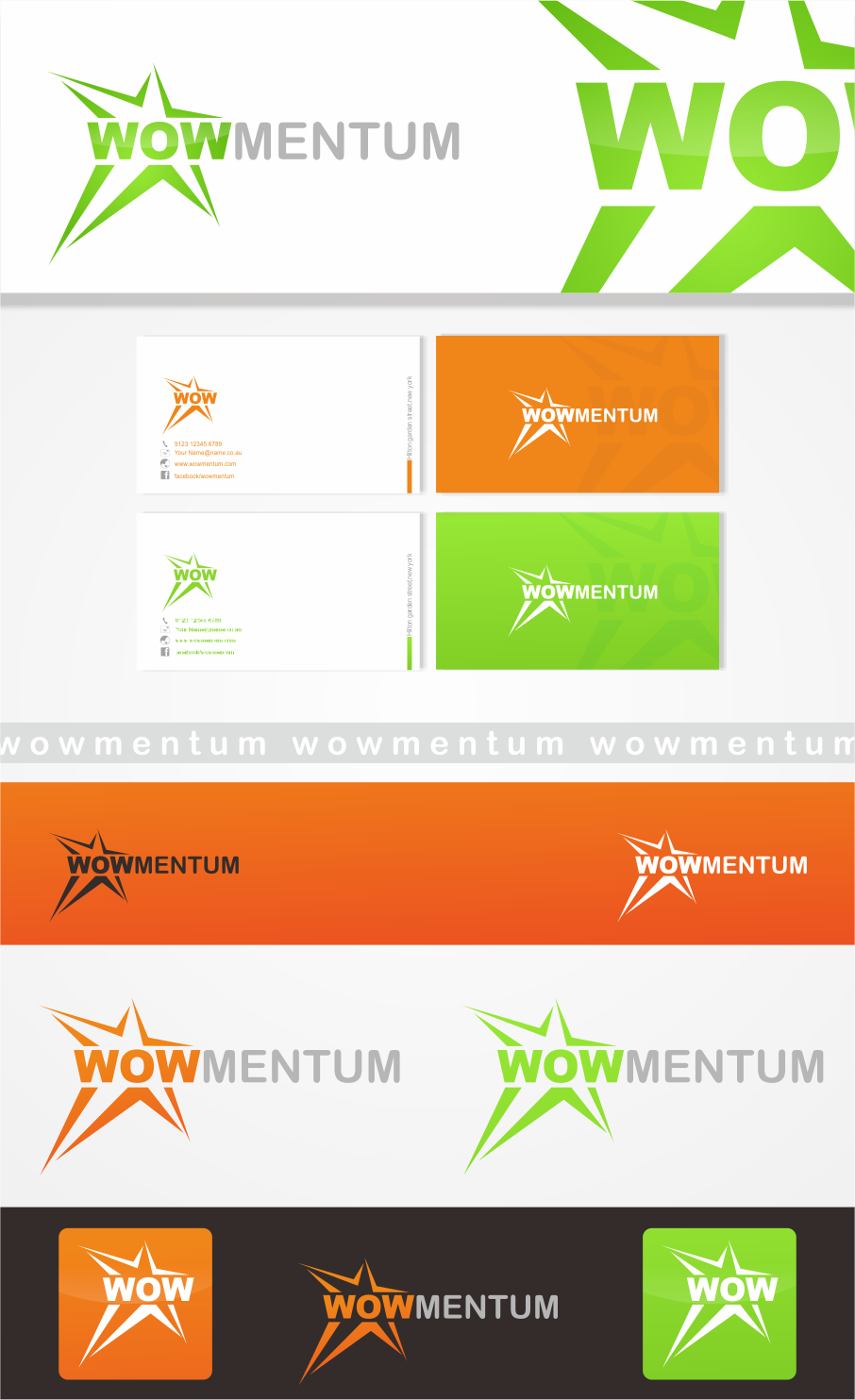 Help Wowmentum with a new logo