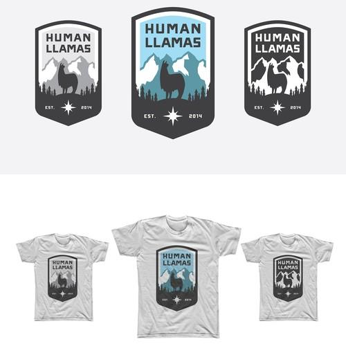 Logo Concept for HumanLlamas