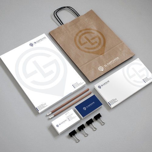 Creating brand identity pack for a consulting company