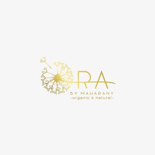 Elegant logo for skin care products.