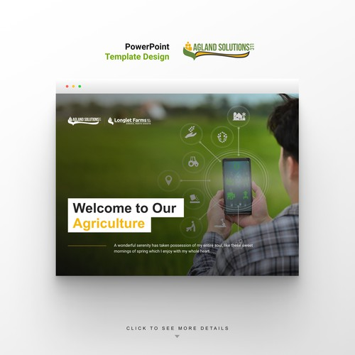 Agriculture Business Powerpoint template