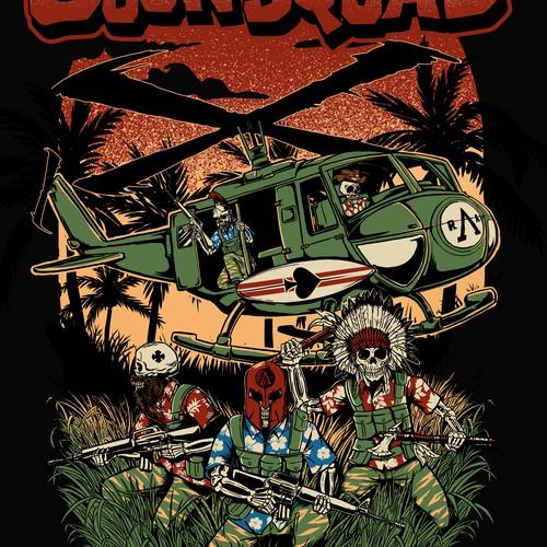 The GoonSquad T-shirt design