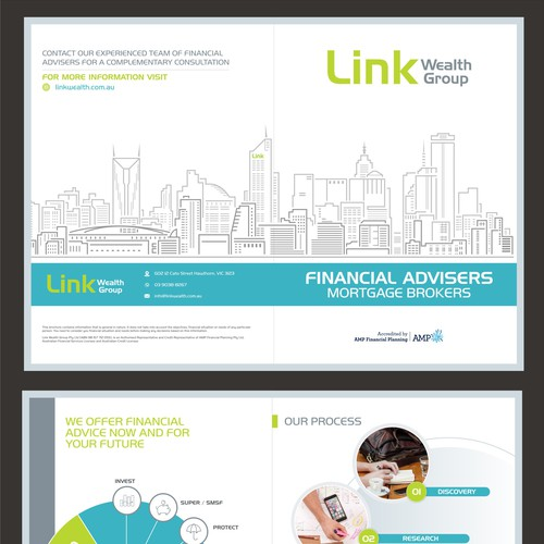 Financial Planning Company brochure A4 (4 sides)