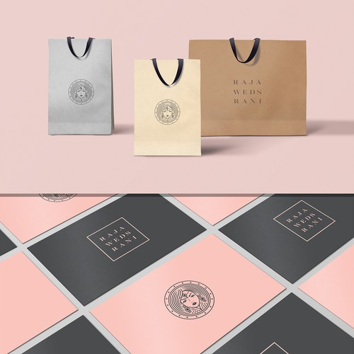Amazing Classy & Luxury fashion logo design