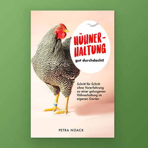 Cover for an eBook in the field of chicken farming.