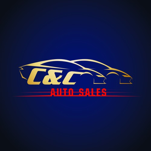 logo design for C&C auto sales