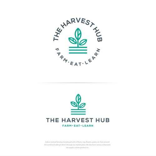 The Harvest Hub Logo