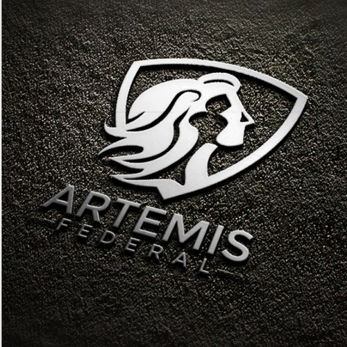 Strong Logo for Woman Owned Cyber Security - Artemis Federal