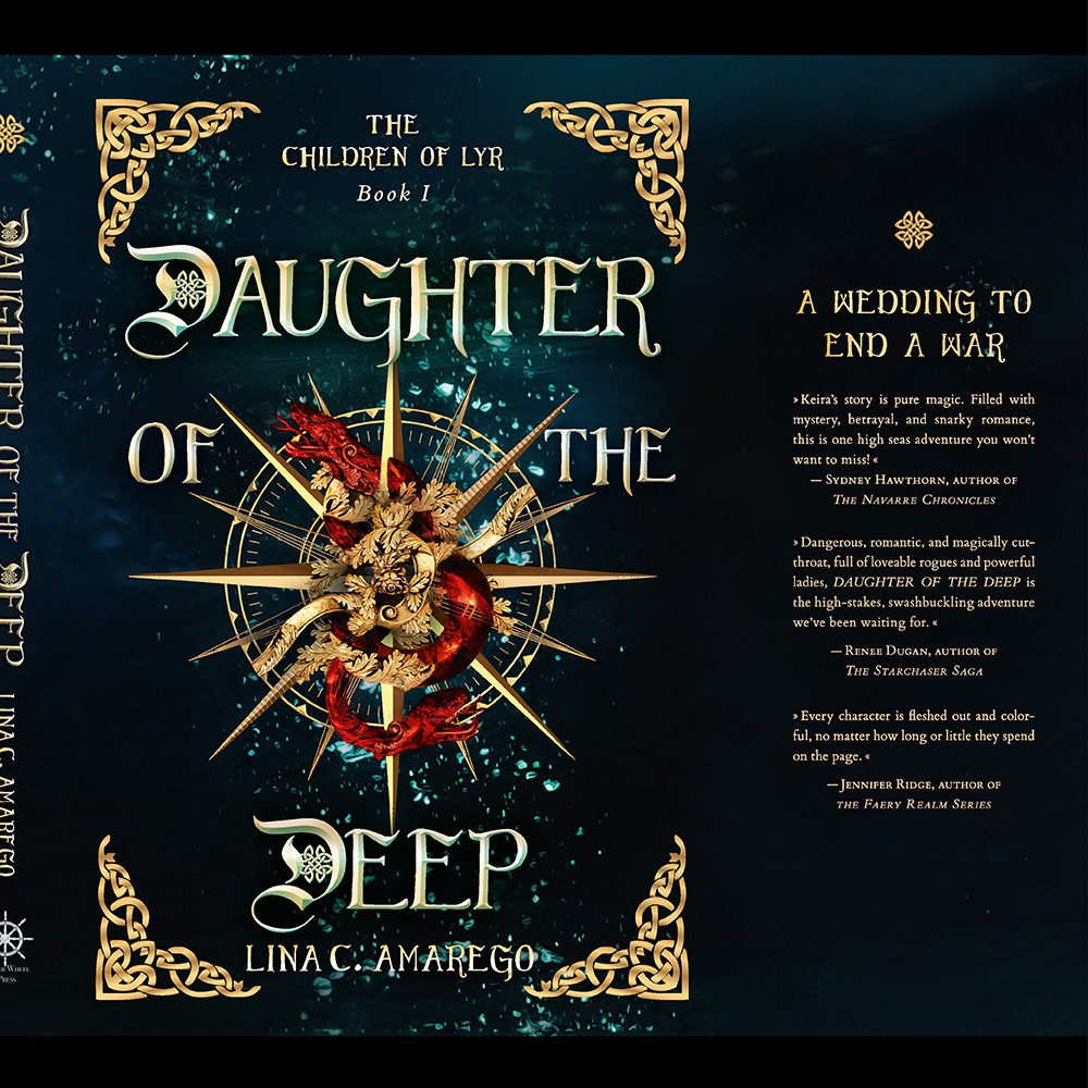 Dustjacket Hardcover 'Daughter of the Deep'