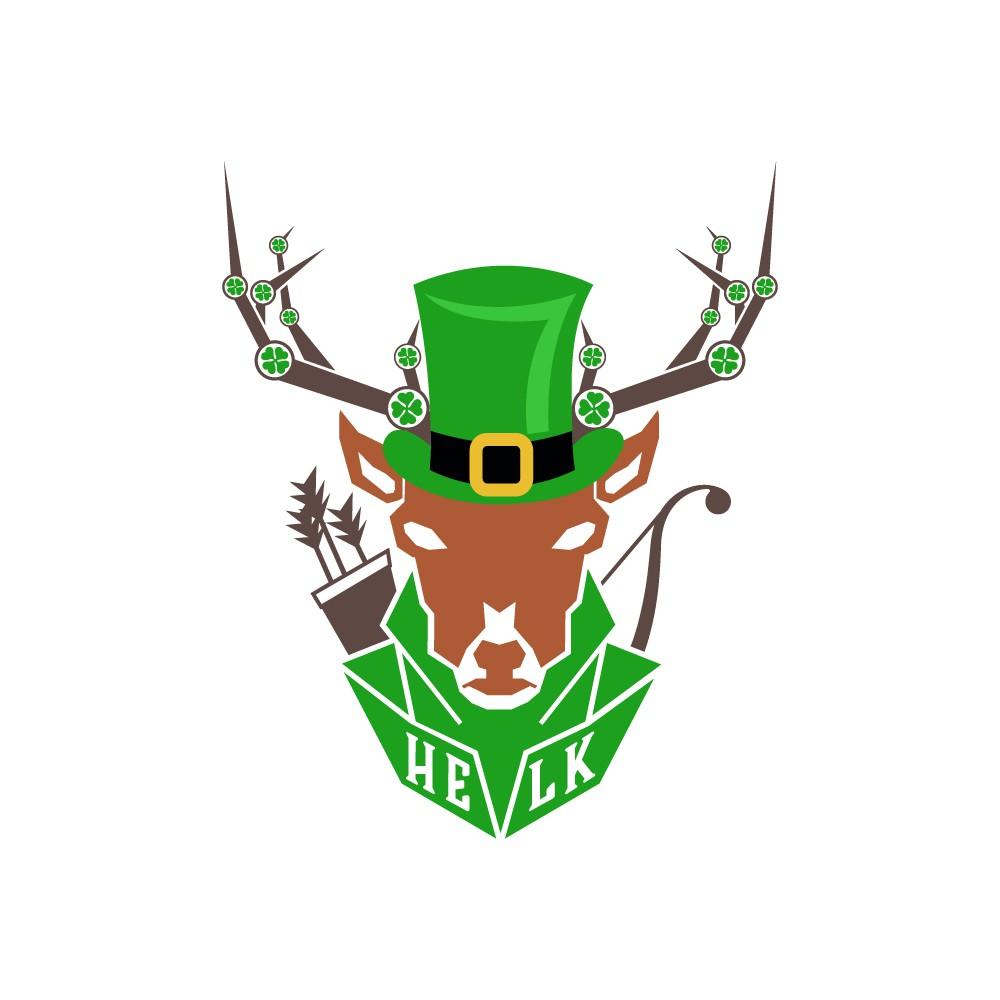 HELK logo Seasonal Version (Patrick's Day)