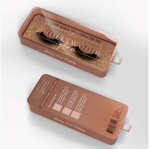 Packaging design for eyelashes