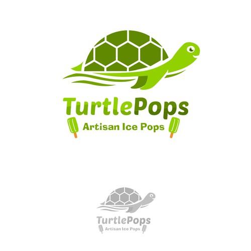 logo concept for turtlepops !