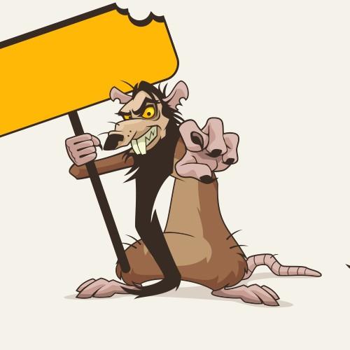 Ratsputin mascot / character RAT