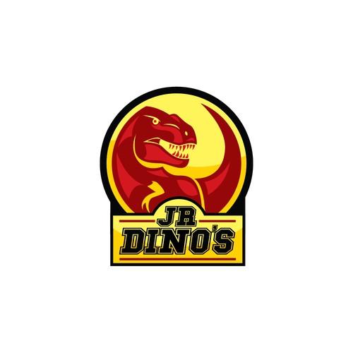 Jr Dino's Logo