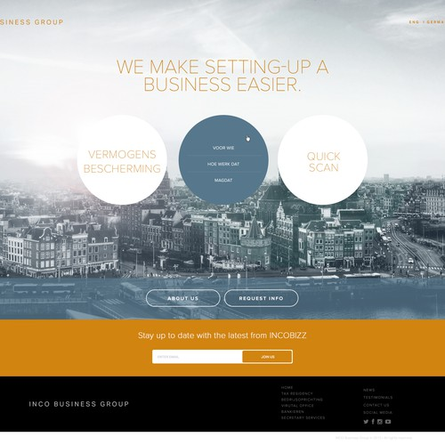 Inco Business Group Website