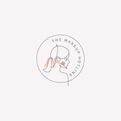 Logo concept for The Makeup Hotline