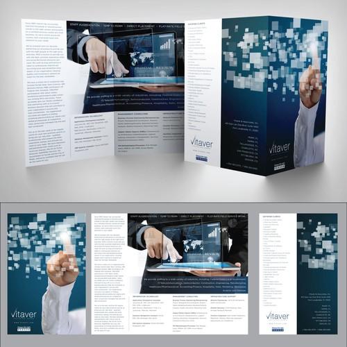 Vitaver needs a new brochure design