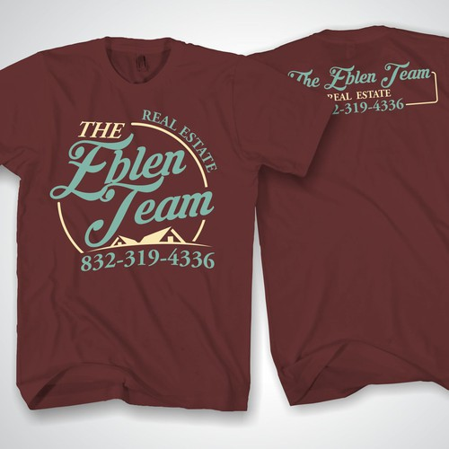 Real Estate Company needs a cool vintage T-shirt design