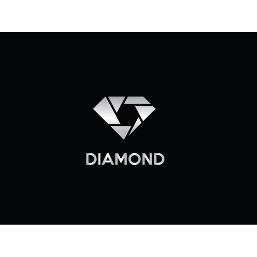 Diamond in black