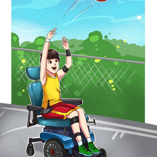 Participation through Sports illustration