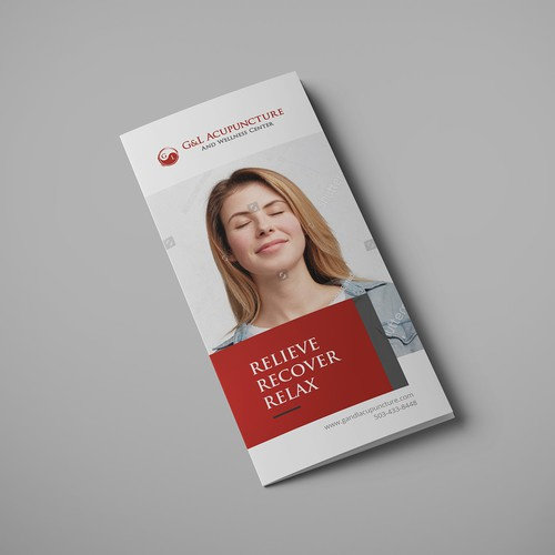 Health, Lifestyle and Beauty Trifold Brochure