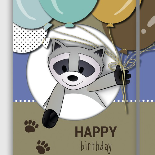 Birthday Card for Little Humans from their Fave Toy!