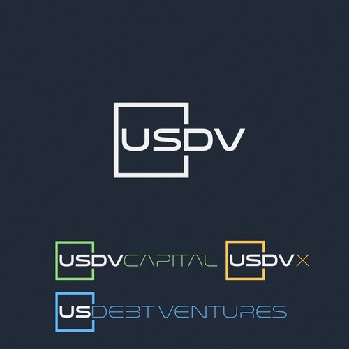 Strong tech logo for an Investment Company