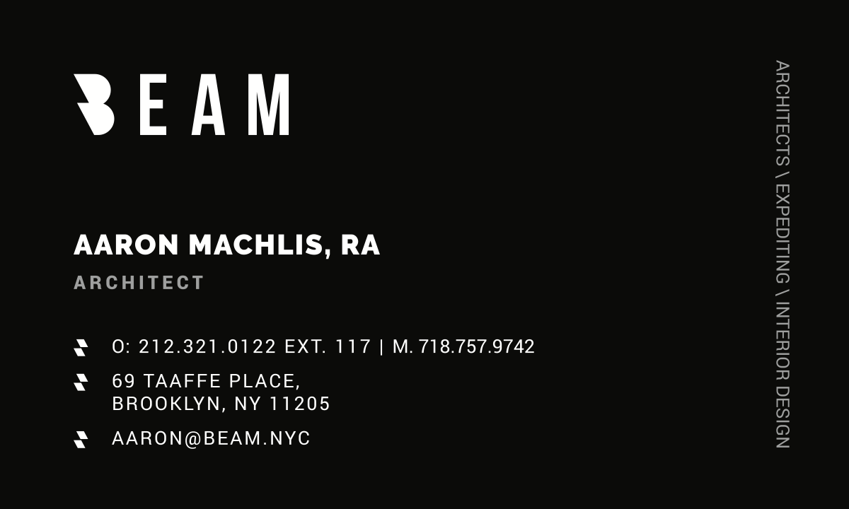 Business Card for Beam
