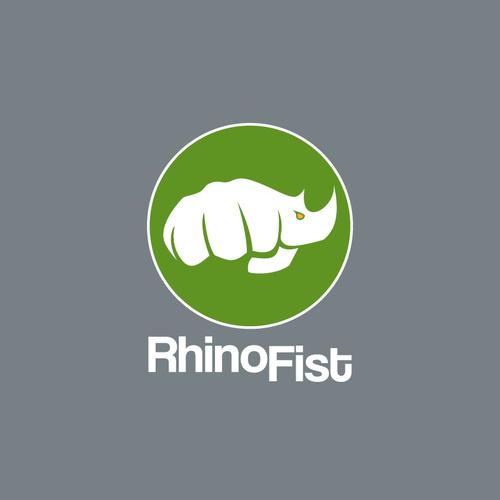 Powerful logo for RhinoFist