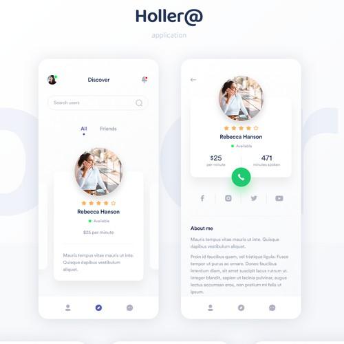 Social Application Design