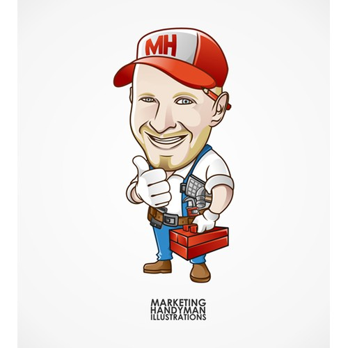 Marketing Handyman needs a new illustration