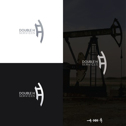 "Logo design for ""DOUBLE H"""