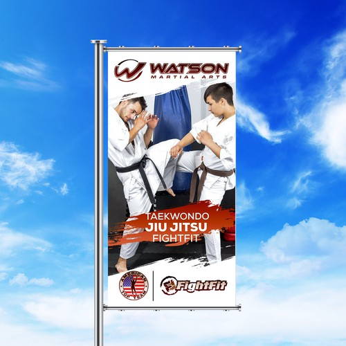 signage for a Martial Arts