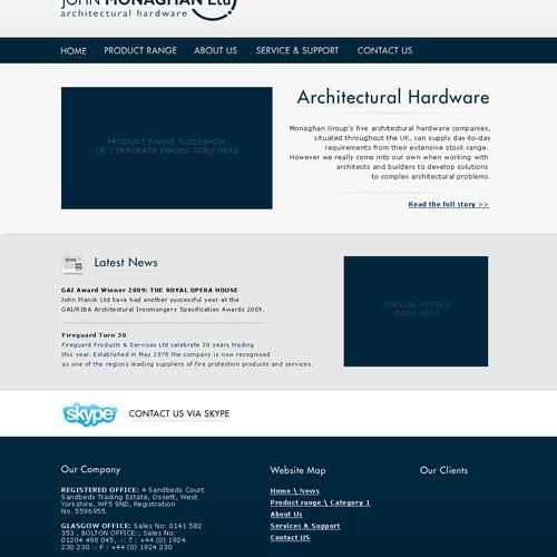 Website Design Refresh