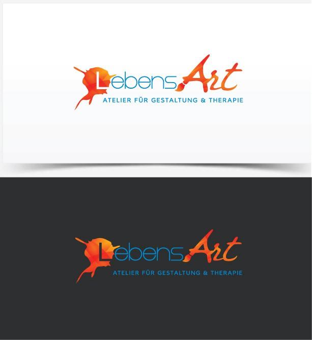 Individuelles Logo für Kunst und Therapie
