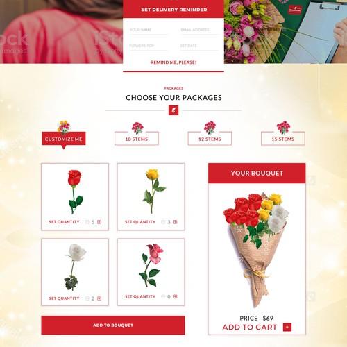 Flower Web Design