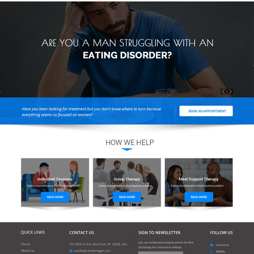 Men with Eating disorders