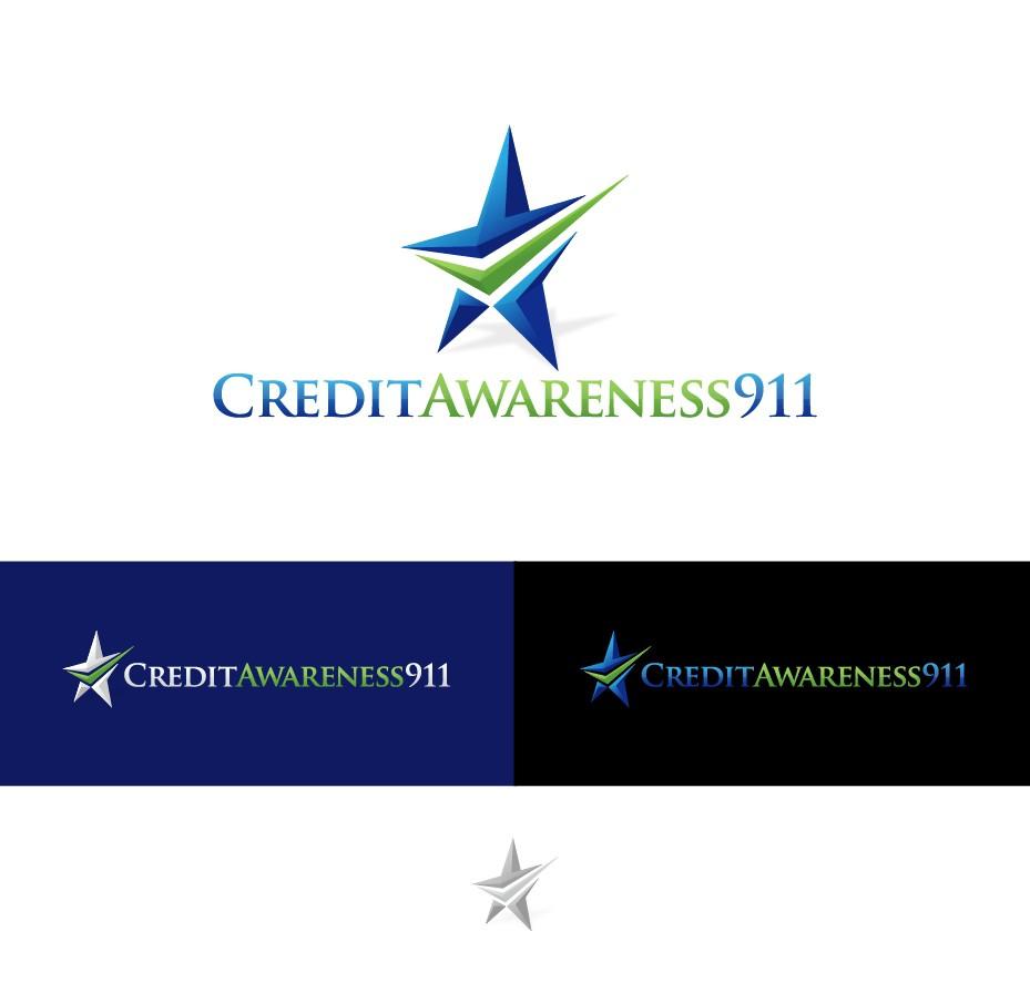 Create the next logo for Credit Awareness 911