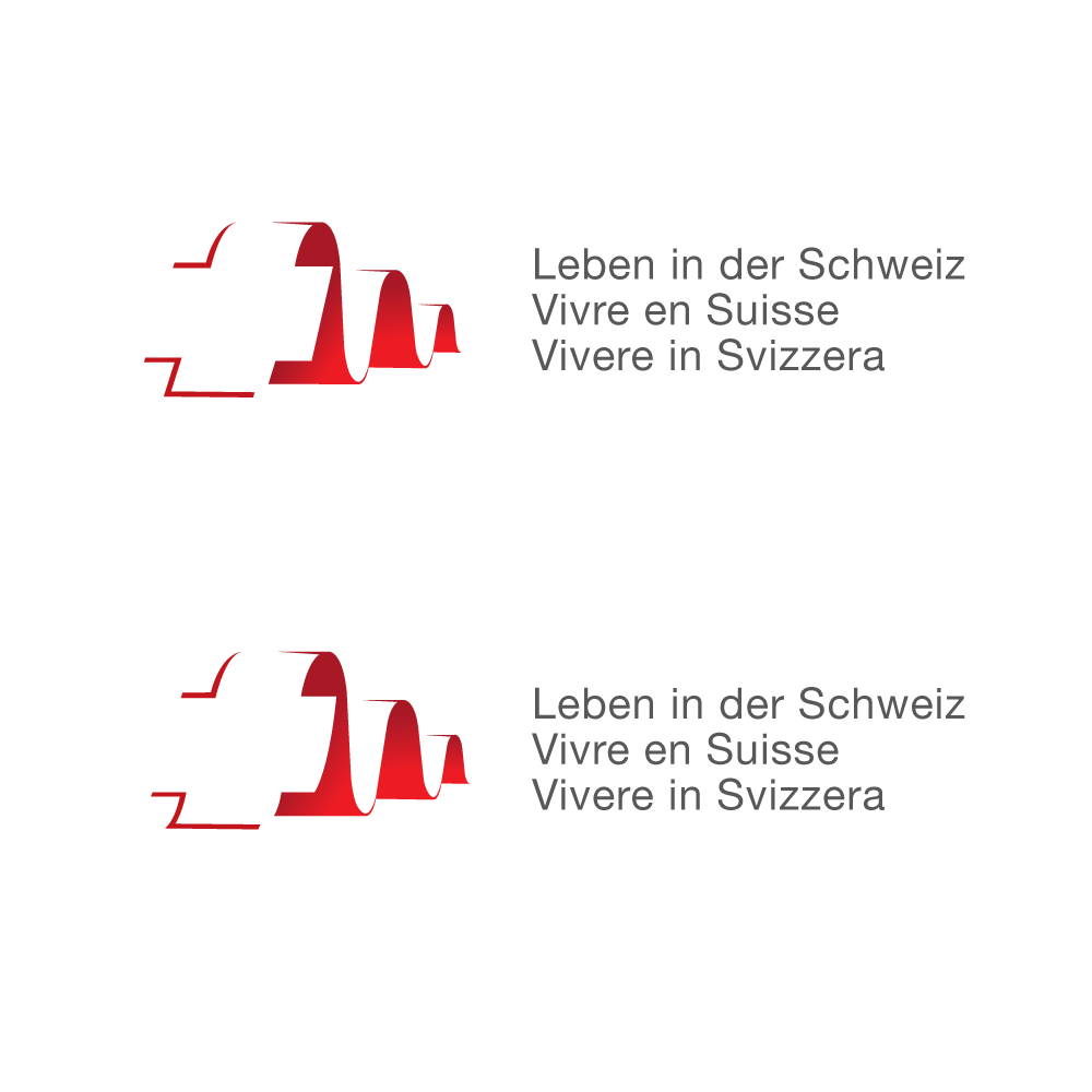 Modernize the logo of a scientific survey in Switzerland!